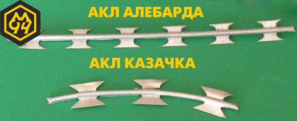 Виды ЗАКЛ, которые распространены в Украине