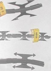 Виды Армированой колючей ленты
